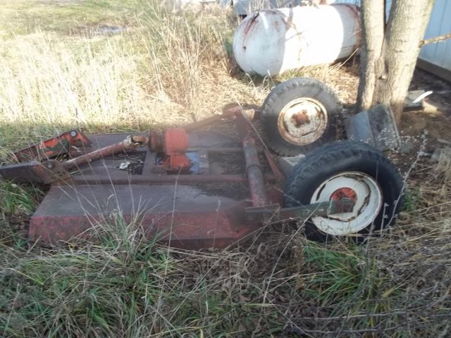 New Idea rotary mower